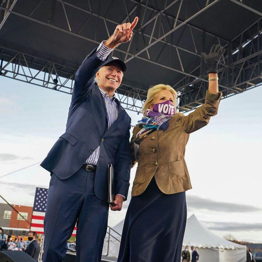 Elecciones en Estados Unidos: Conocé Jill, la esposa de Joe Biden