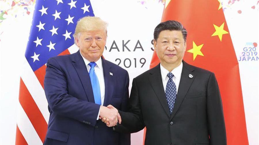 Trump y Xi Jinping 20201103