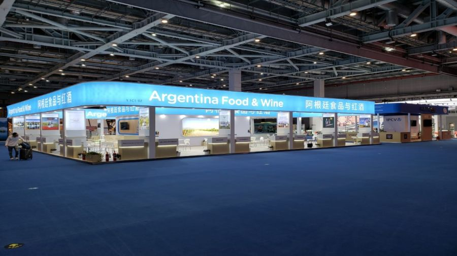 china feria ciie pabellon argentino 20201104