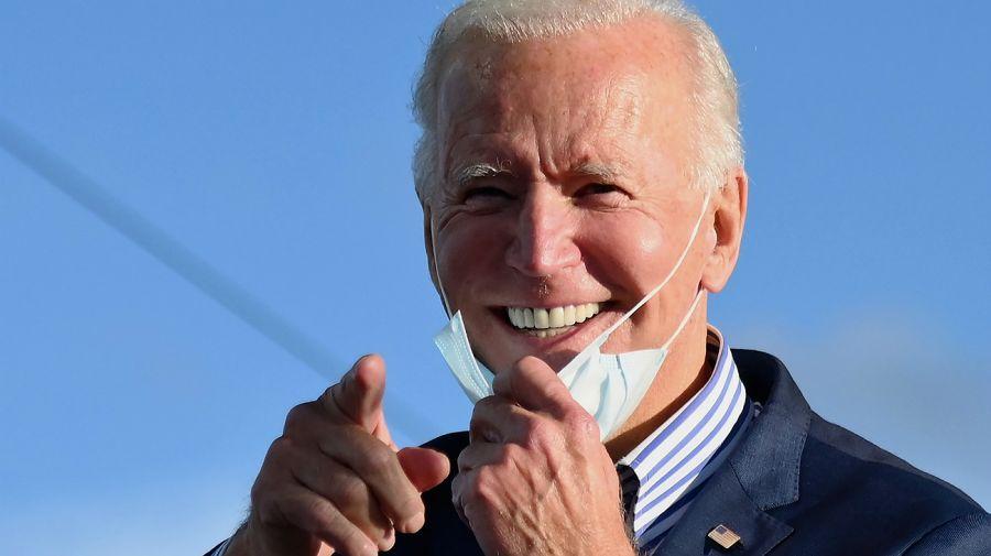 Joe Biden obtuvo una cantidad récord de votos.