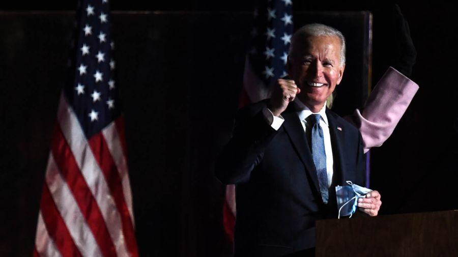 Joe Biden y Donald Trump 20201104