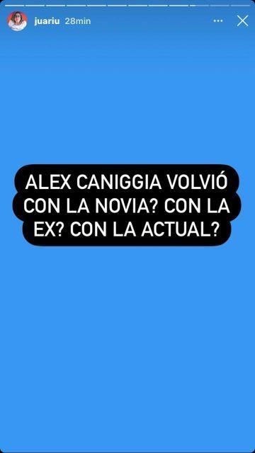 Las fotos que delatan la reconciliación entre Alex Caniggia y Macarena Herrera