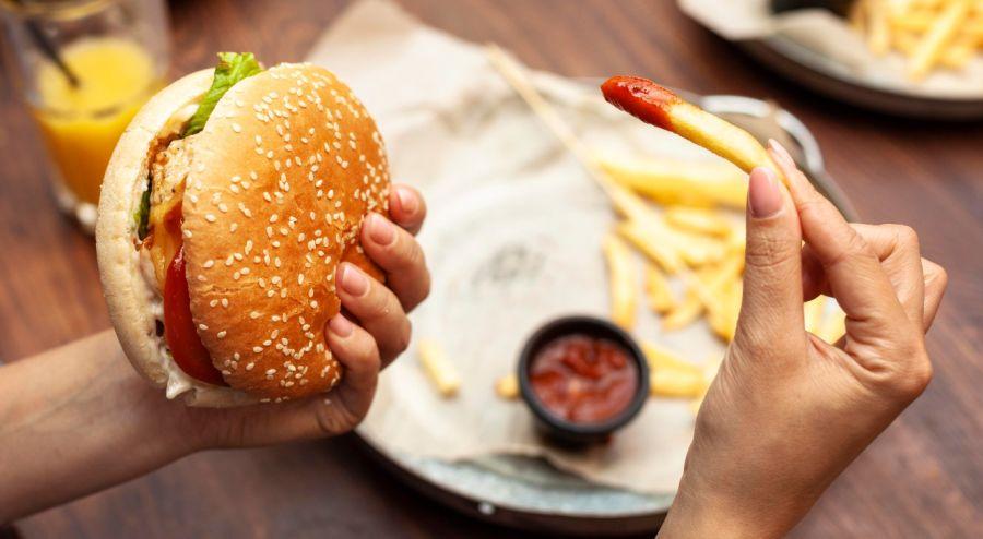 Malos hábitos de alimentación