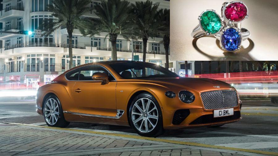 Bentley, nuevas joyas y el brillo del naranja Fanta