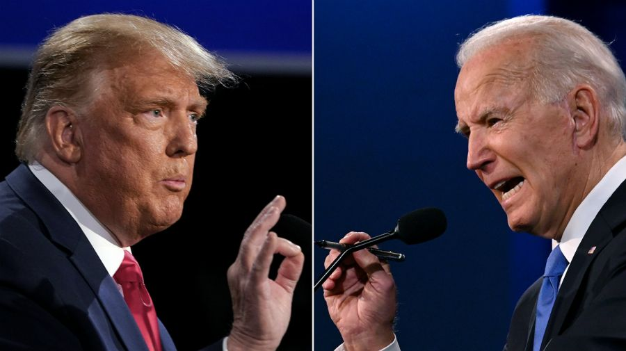 Eleccione en Estados Unidos 2020. Tensa expectativa por el resultado final.