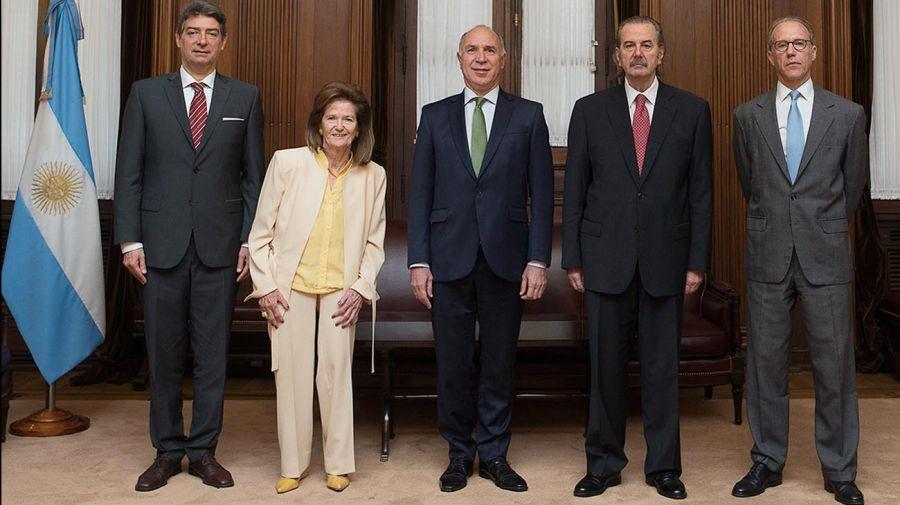Ministros de laCorte Suprema de Justicia 20201105