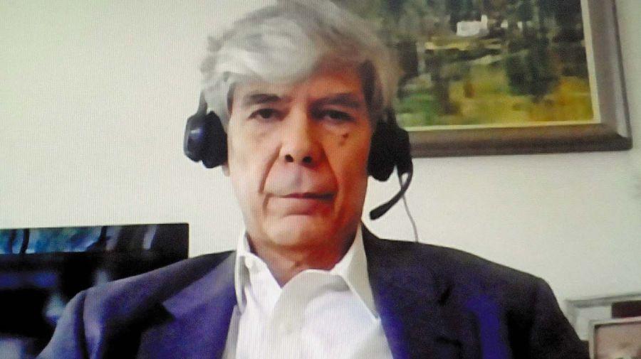 Carlos Zarazaga, en la entrevista con Jorge Fontevecchia.