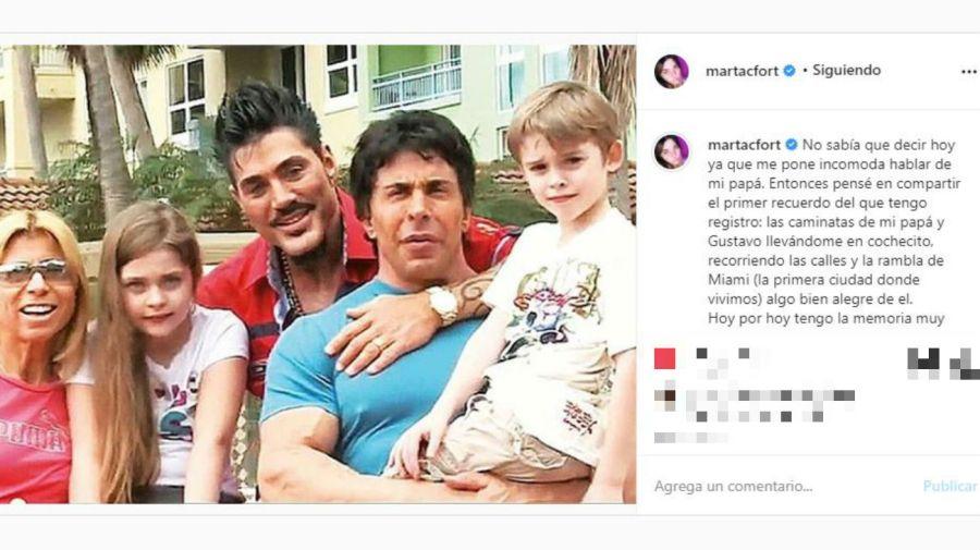 Marta, Felipe y Ricardo Fort