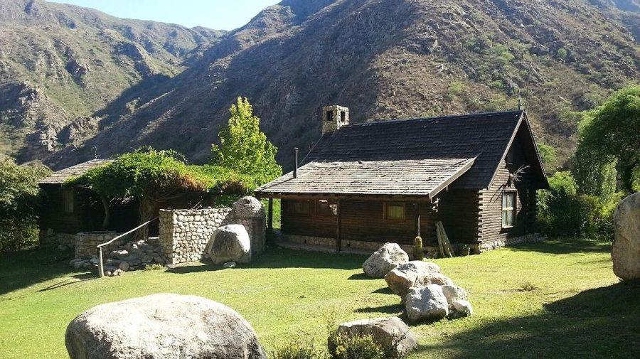 La cabaña en la Quebrada de Anillaco será parte del circuito turístico.