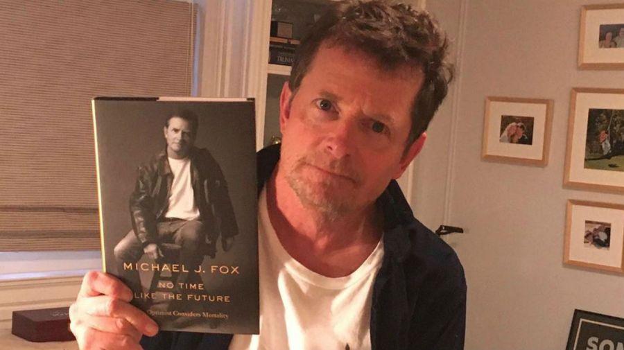 Michael J Fox y su libro