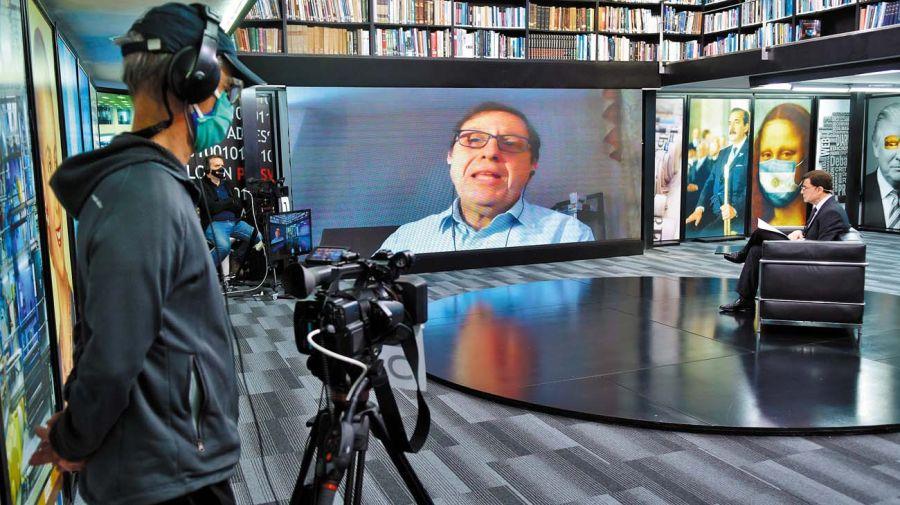 Miguel Kiguel, en la entrevista con Jorge Fontevecchia.