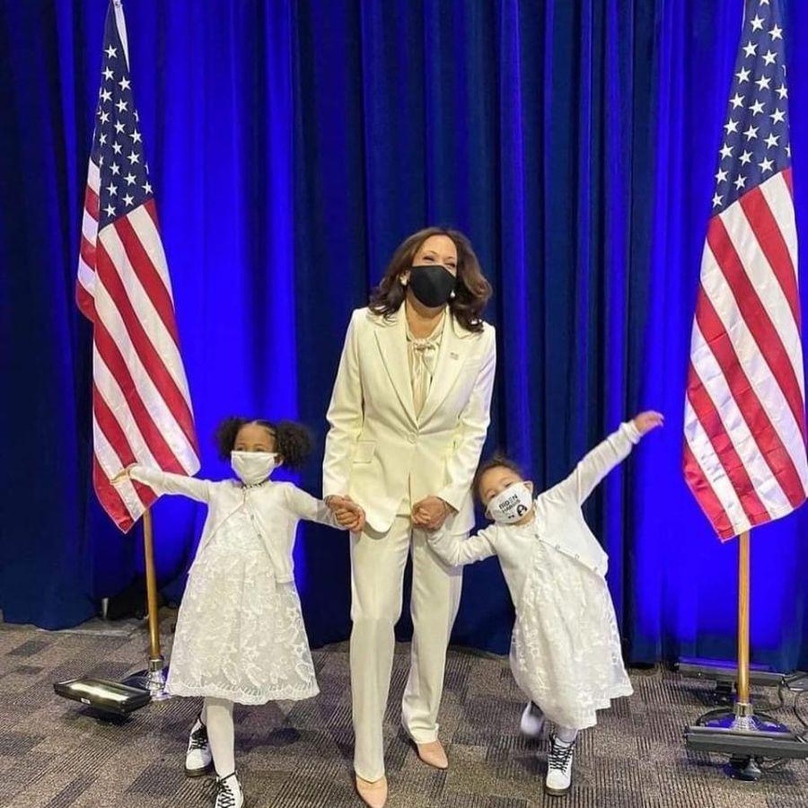 Jill Biden y Kamala Harris: los looks escogidos para el primer acto