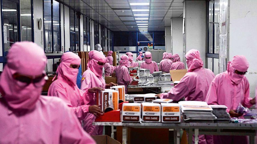 Fábrica de jeringas