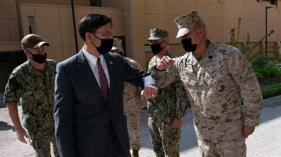 Mark Esper, secretario de Defensa de Estados Unidos, fue echado por Twitter