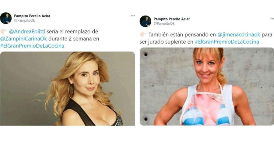 Andrea Politti y Jimena Monteverde