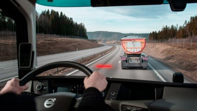 Más equipamiento en los camiones Volvo