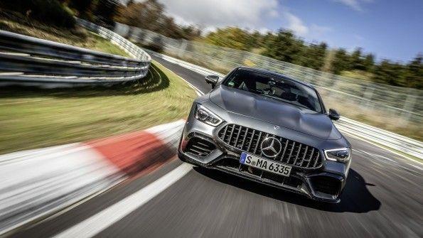 Mercedes-AMG GT 63 S 4MATIC +: nuevo récord en Nürburgring