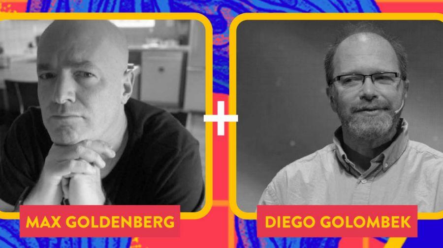 Max Goldenberg, y el doctor Diego Golombek.