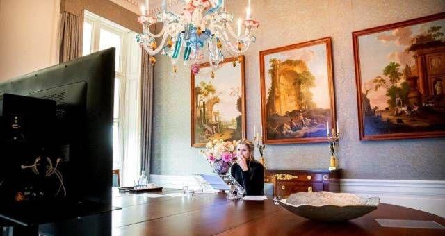 Tras la polémica por las costosas reformas en su Palacio, Máxima muestra su nuevo