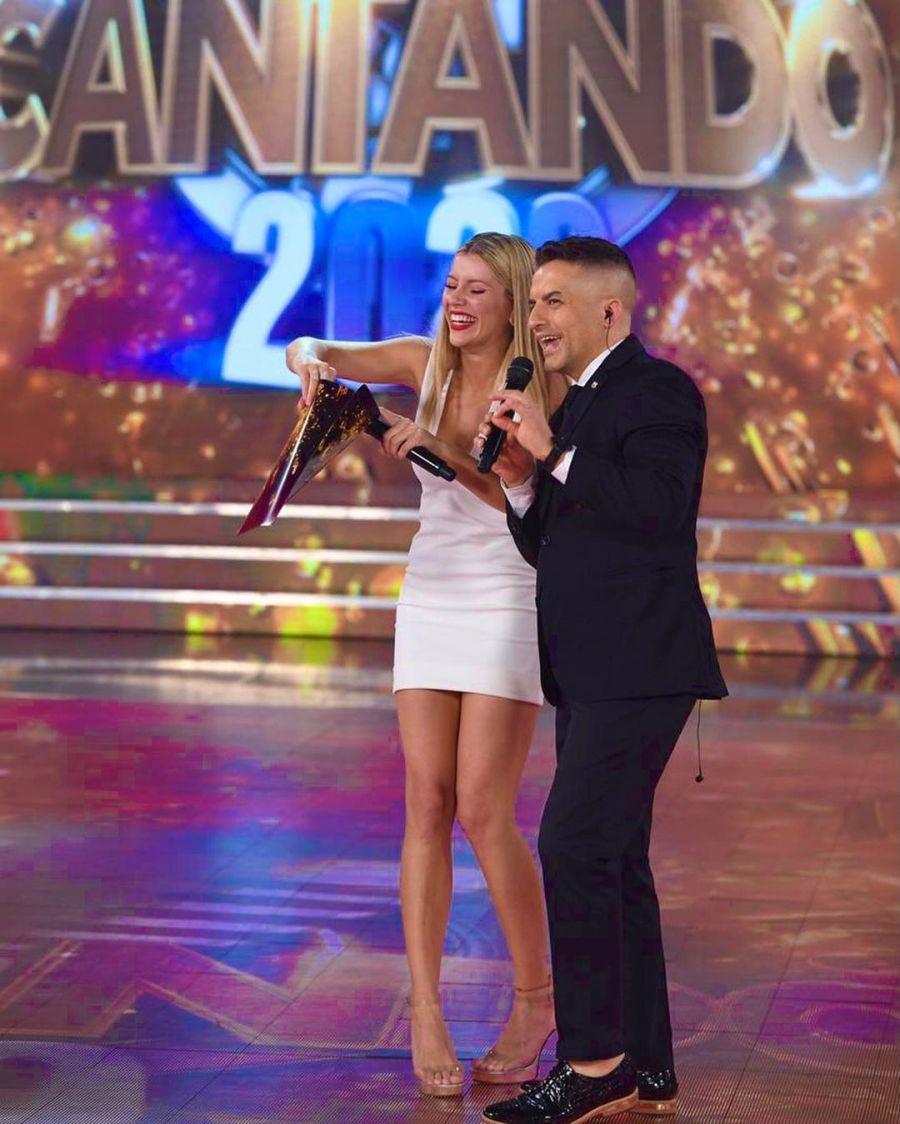 Angel de Brito contó las charlas privadas que tiene con Laurita en el back del Cantando