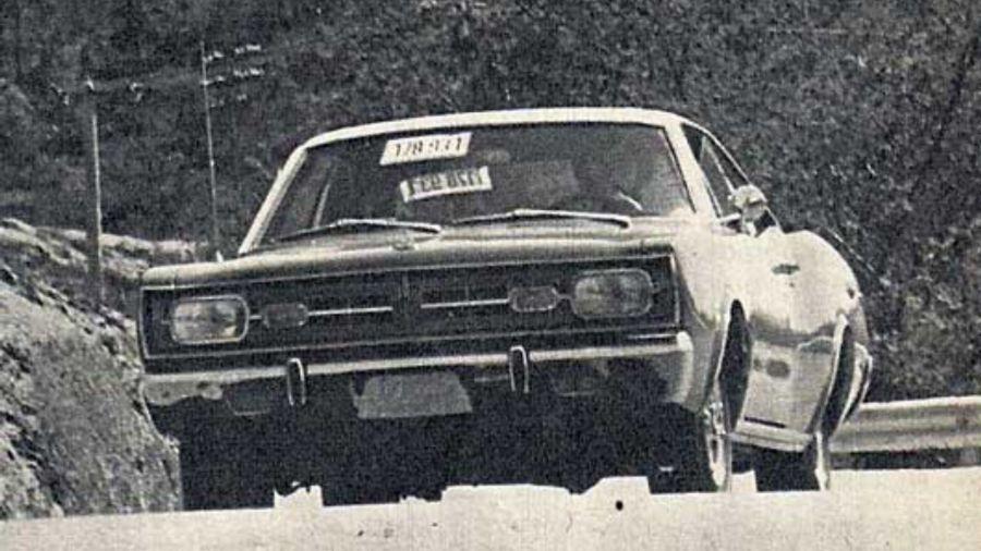 Así probábamos el Dodge GTX V8