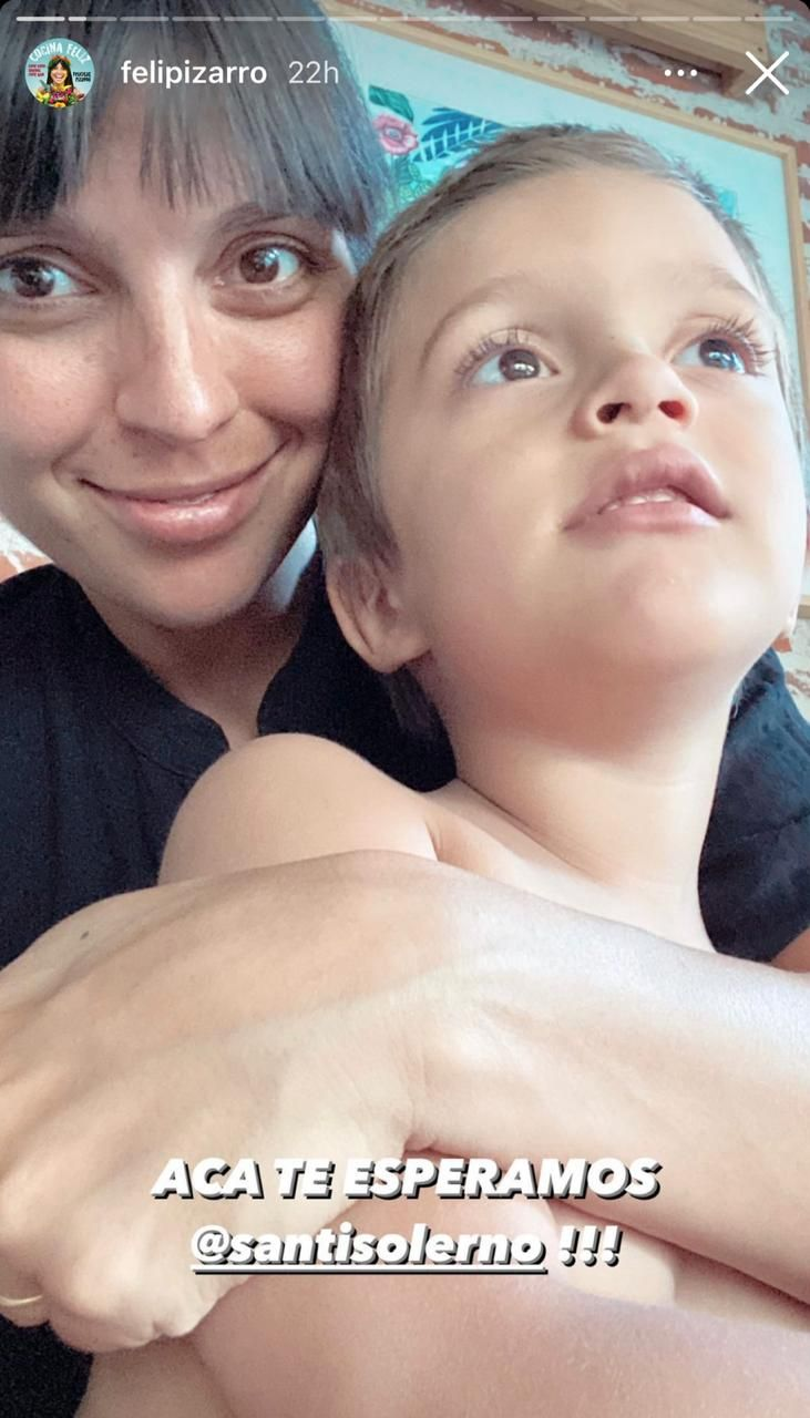 La preocupación de Felicitas Pizarro: tras dar positivo de coronavirus, su marido está internado