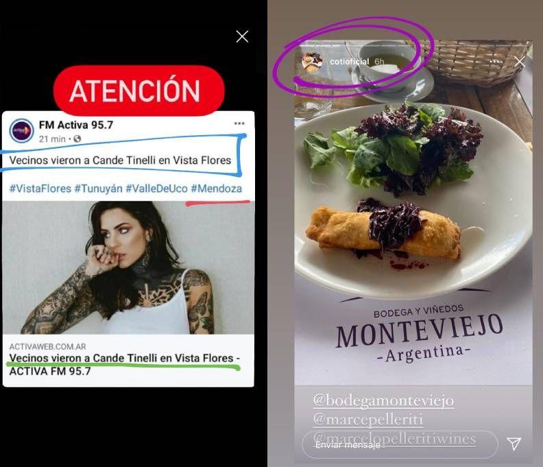 Rumores de romance entre Coti Sorkin y Cande Tinelli: los indicios en las redes sociales