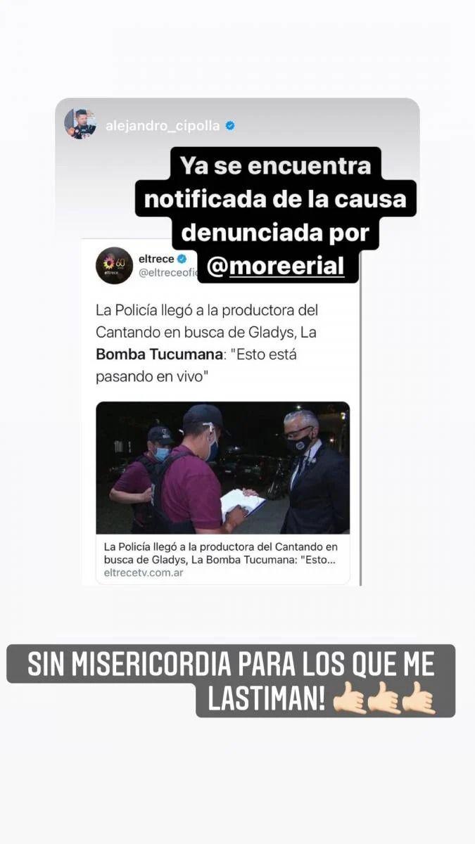 Todos los detalles de la demanda millonaria de More Rial a La Bomba Tucumana