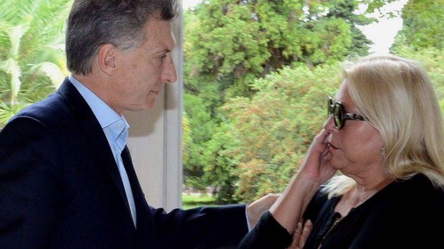 Mauricio Macri y Lilita Carrió