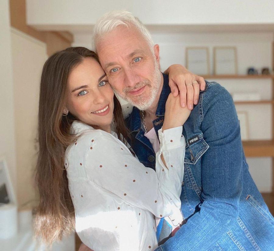 Andy Kusnetzoff fue homenajeado por su esposa en el día de su cumpleaños
