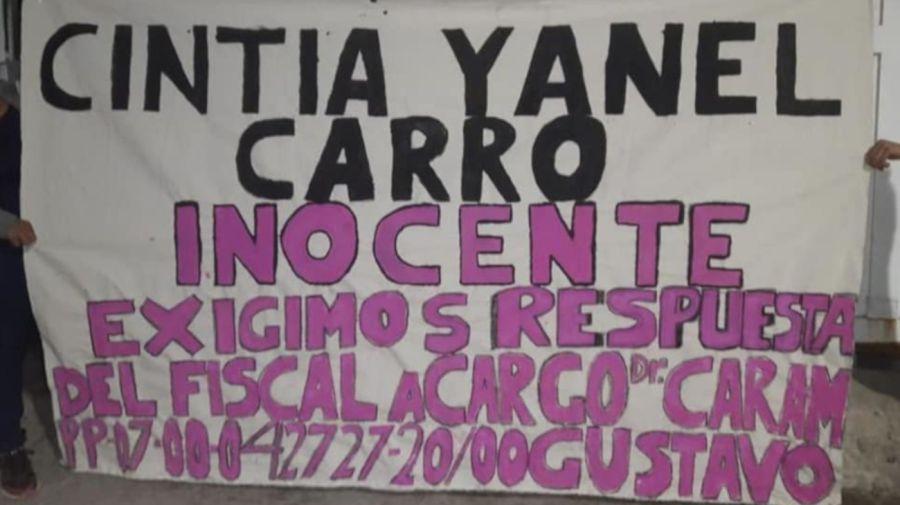 2020 18 11 Cintia Carro Detenida Homicidio Lomas de Zamora