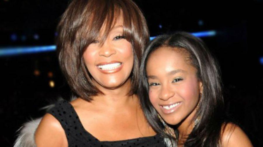 Whitney Houston y Bobbi Kristina Brown