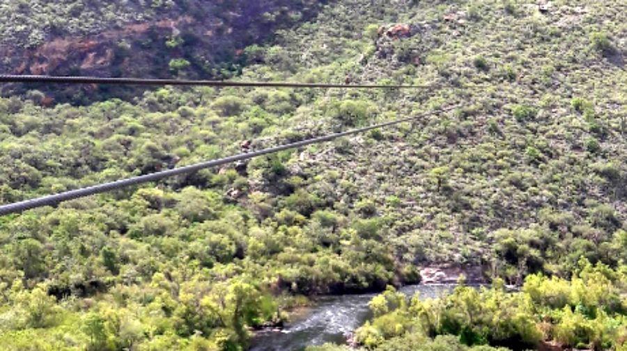 El cable que embistió accidentalmente el helicóptero de Jorge Brito era una de las atracciones turísticas en Salta.
