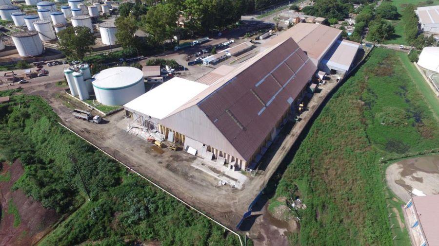 Planta de Terminales y Servicios S.A., puerto de San Nicolás.