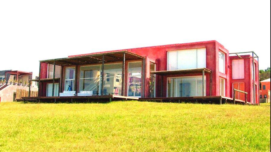 La casa de los Passaglia en Punta del Este