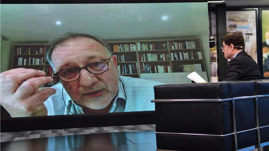 Carlos Scolari, en la entrevista con Jorge Fontevecchia.