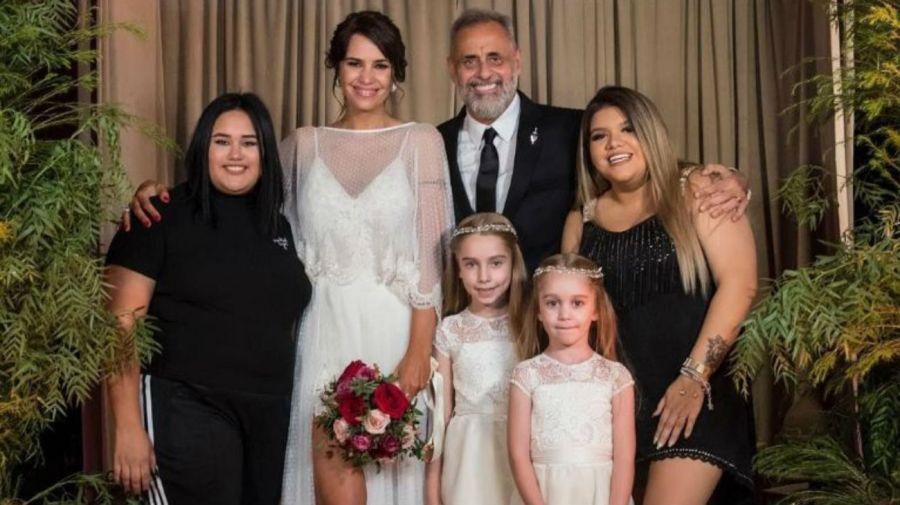 Jorge Rial Romina Pereiro y sus hijas