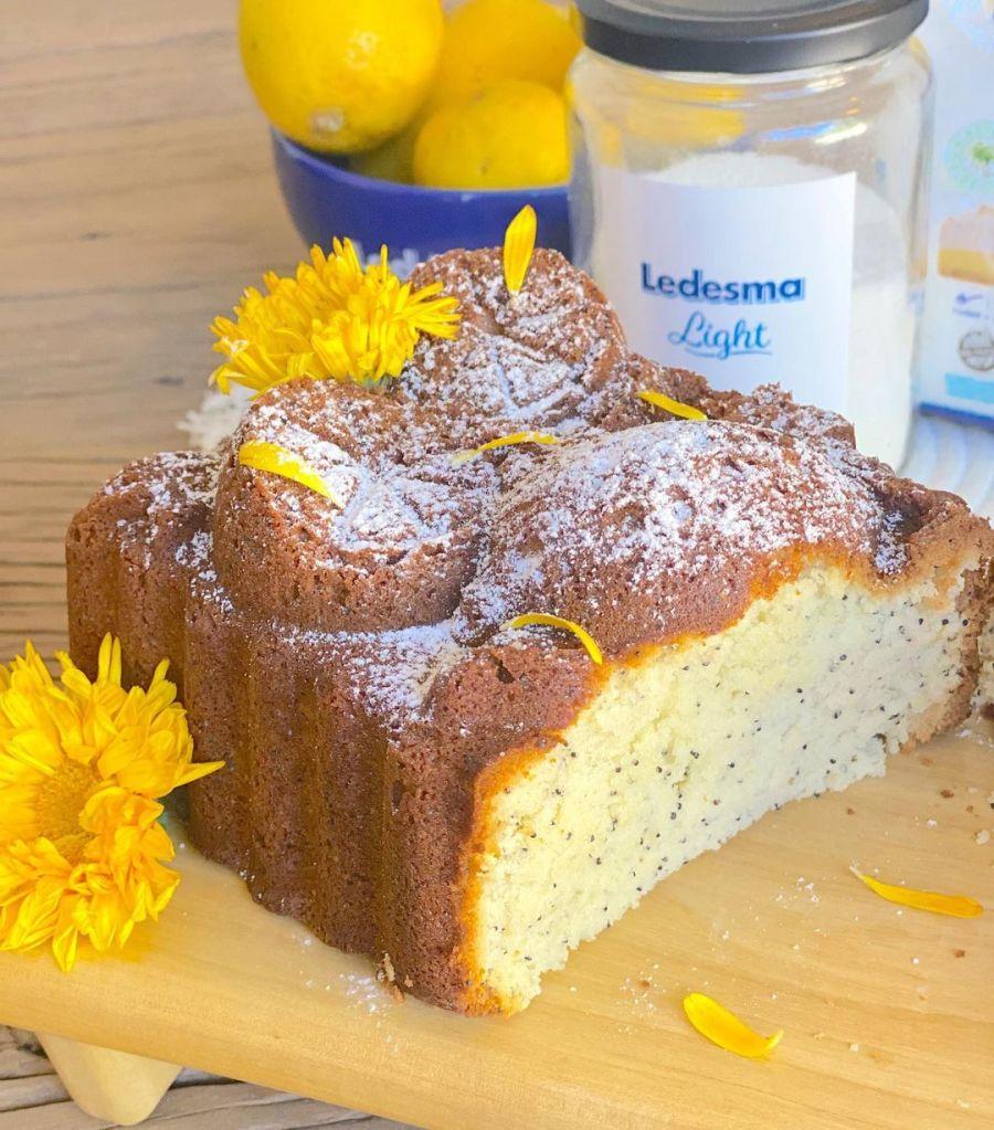 Lourdes Sánchez te enseña a hacer budín de limón de amapolas
