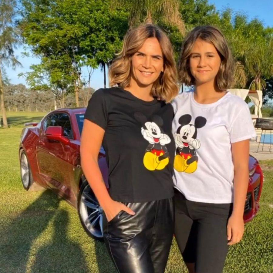 Amalia Granata compartió una foto con su hija Uma e impactó con su parecido