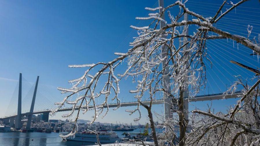 Ciclón y lluvia helada en Rusia 2