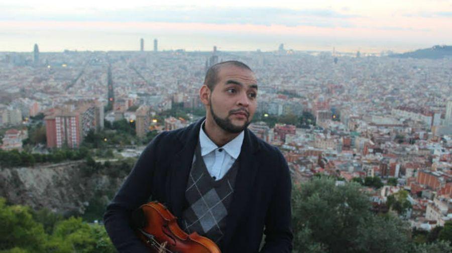 Jonatan Arrejín, violinista, 24 años