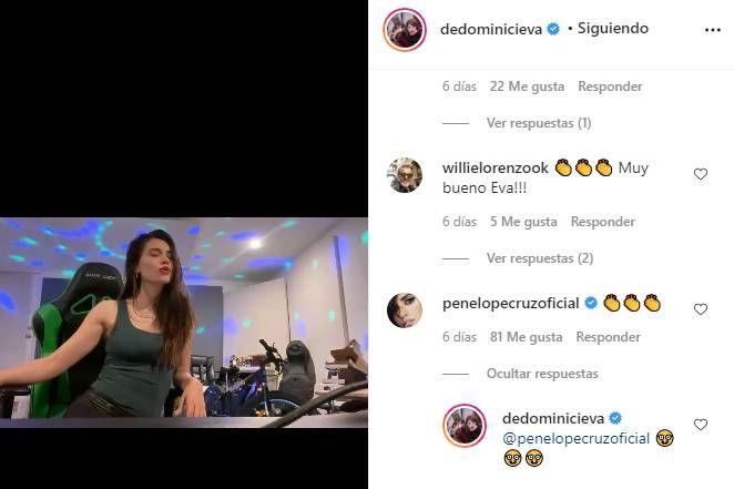 El gesto buena onda de Penélope Cruz con Eva De Dominici