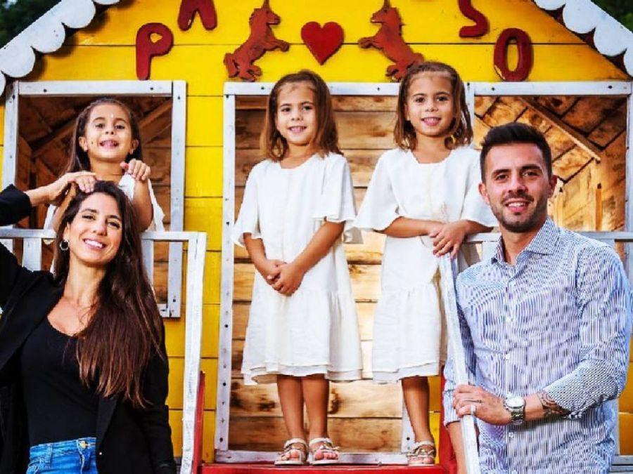 Matías Defederico compartió una foto inédita de Cinthia Fernández en el cumple de su hija