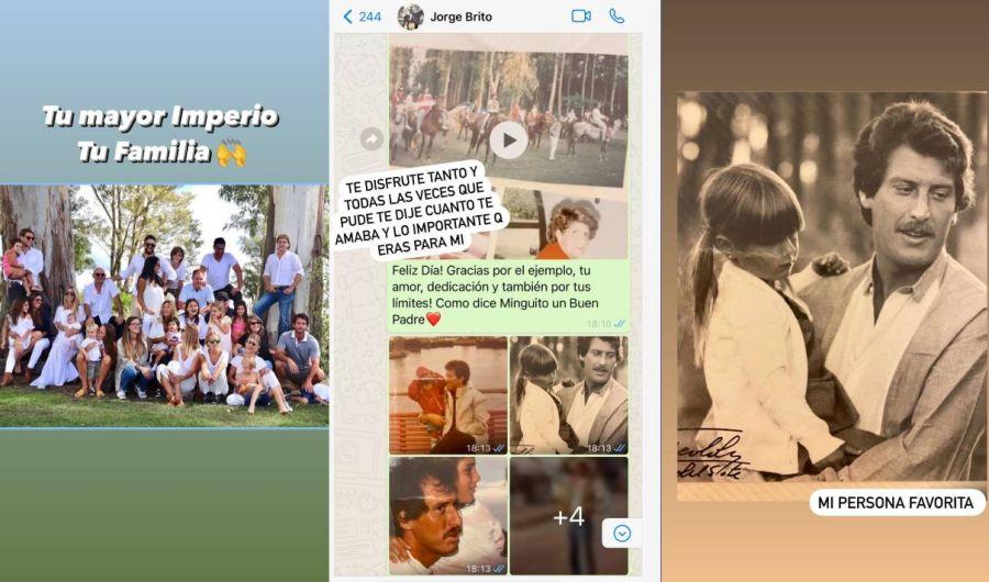 Milagros Brito compartió un emotivo video de Jorge Brito