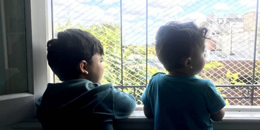 Los niños en cuarentena