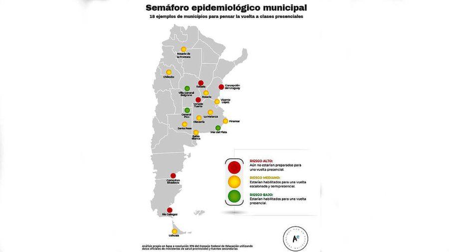 mapas semáforo Educación 20201125