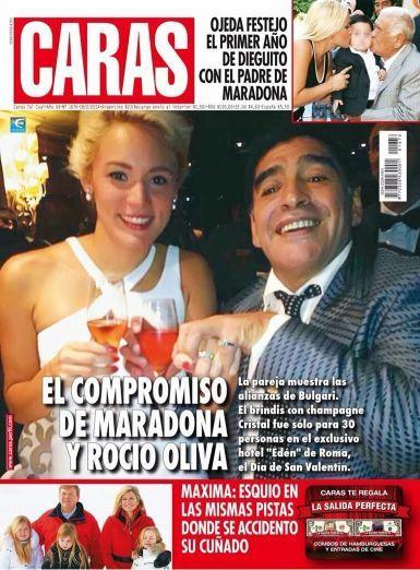 Murió Diego Maradona: la historia de sus grandes amores