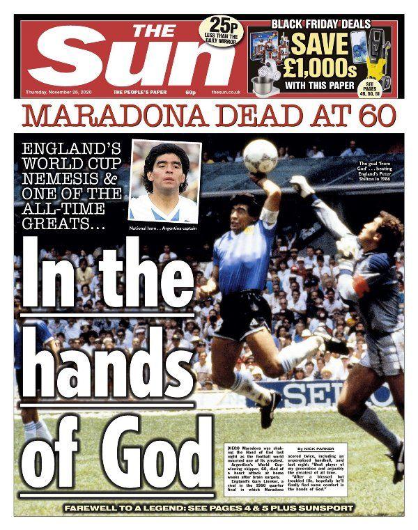 portadas Maradona