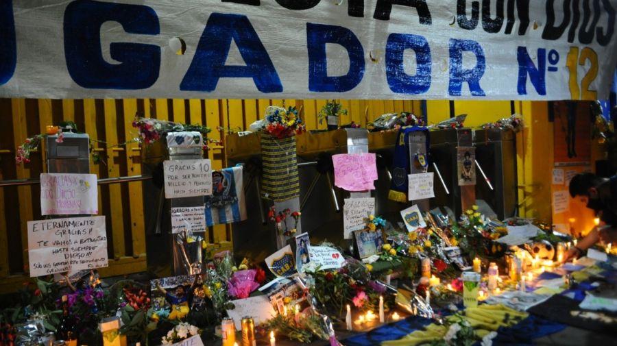 Conmemoración Despedida Maradona