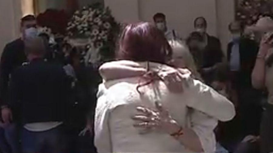 Cristina Fernandez de Kirchner y Claudia Villafañe